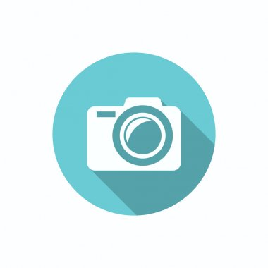 Photo camera simple web icon
