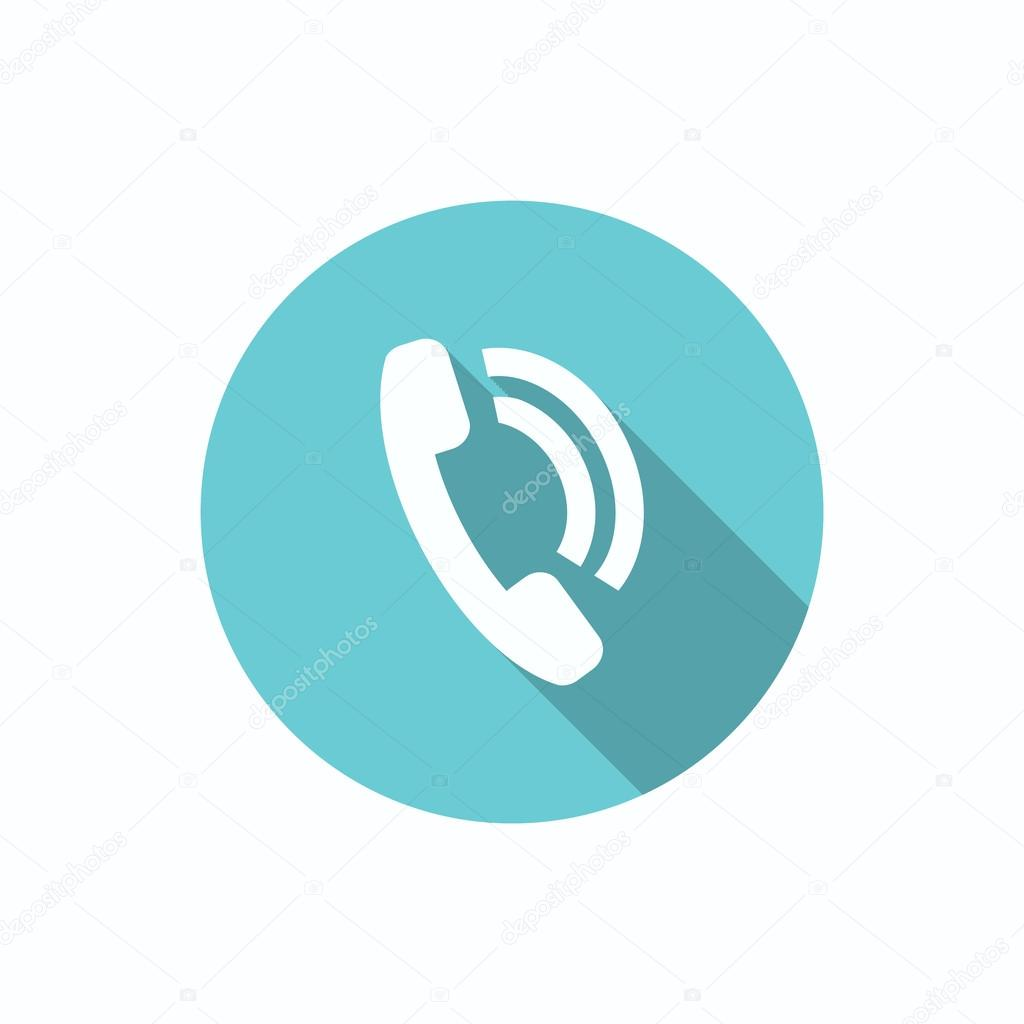 Phone call web icon