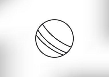 Beach ball web icon