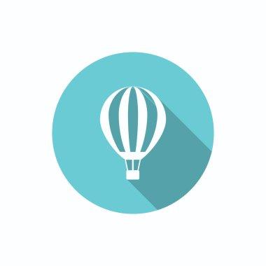 Balloon aerostat web icon