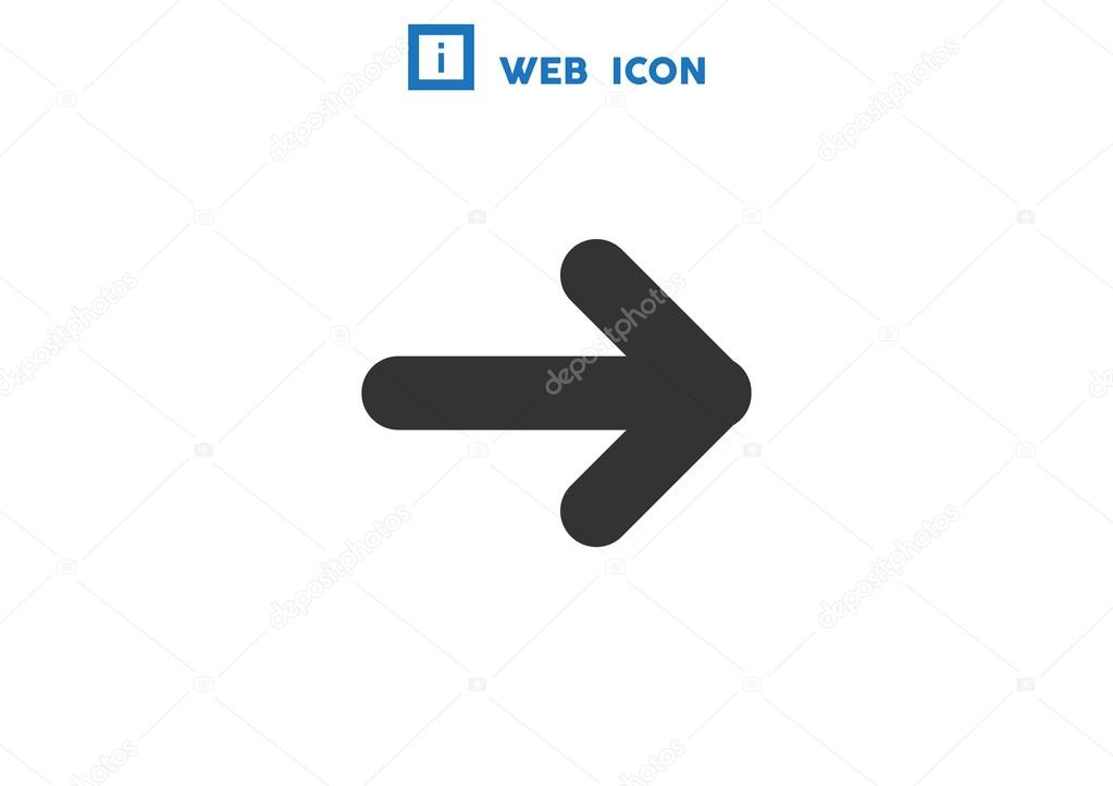 Arrow Pointing Down Icon Stock Vector Lovart 79905750
