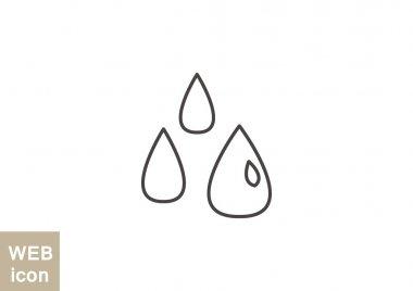 Liquid drops icon
