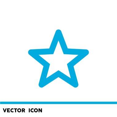Simple star web icon