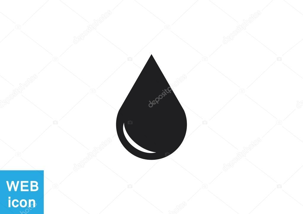 Liquid droplet icon
