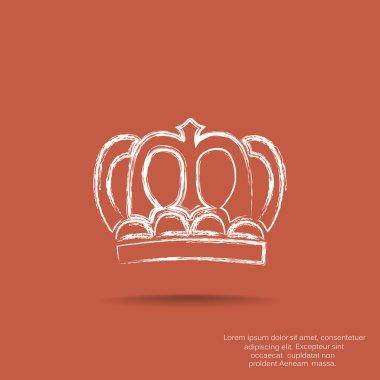 Vintage crown icon
