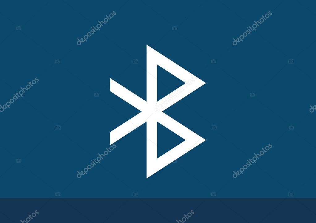 Bluetooth Symbol Web Icon Stock Vector Lovart 88888438
