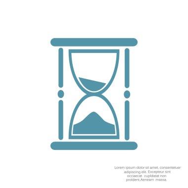Sand clock web icon