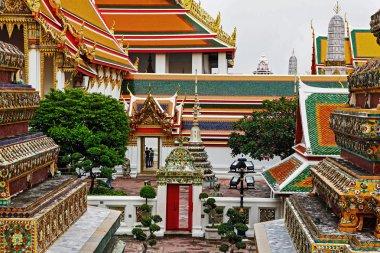 Wat Pho or Temple of the Reclining Buddha, Bangkok, Thailand