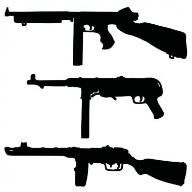 Historical automatic guns