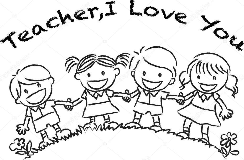 día feliz maestros — Fotos de Stock © wenpei #65742449