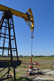 Pumping unit as the oil pump installed on a well