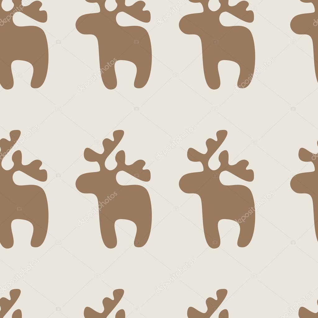 Patrón con renos — Archivo Imágenes Vectoriales © mborgali #67231665