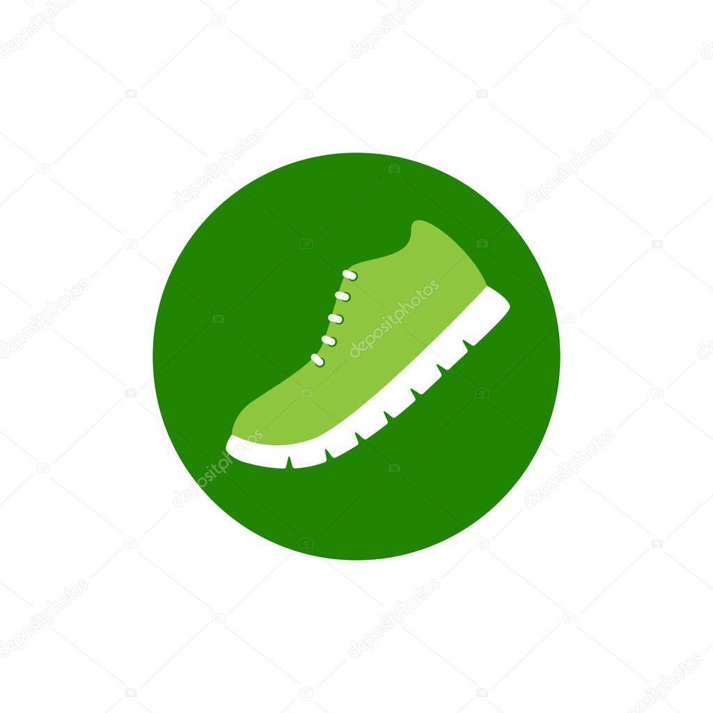 Running Shoe Logo Template Stock Vector C Mborgali 72614927