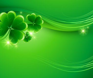 St. Patricks Day Background. Vector illustration