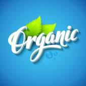 Fotografie Realistic organic logo