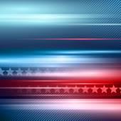 Amerikai függetlenség napja. Vektor csíkos piros és a kék háttér