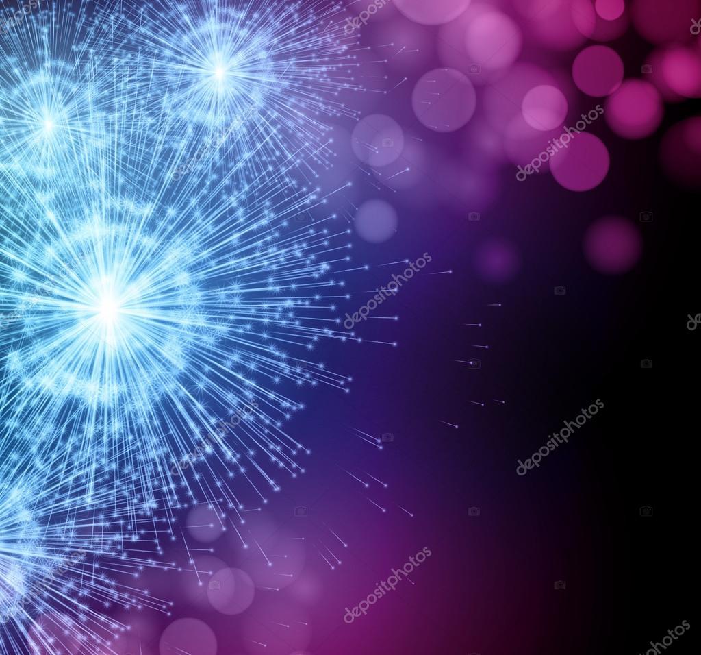 Celebrate party sparkler little fireworks. Vector illustration