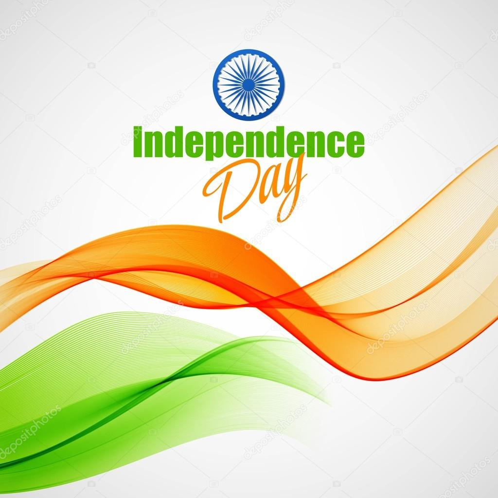 Creative Indian Independence Day concept. Vector illustration