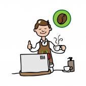 Obchod s kávou Barista