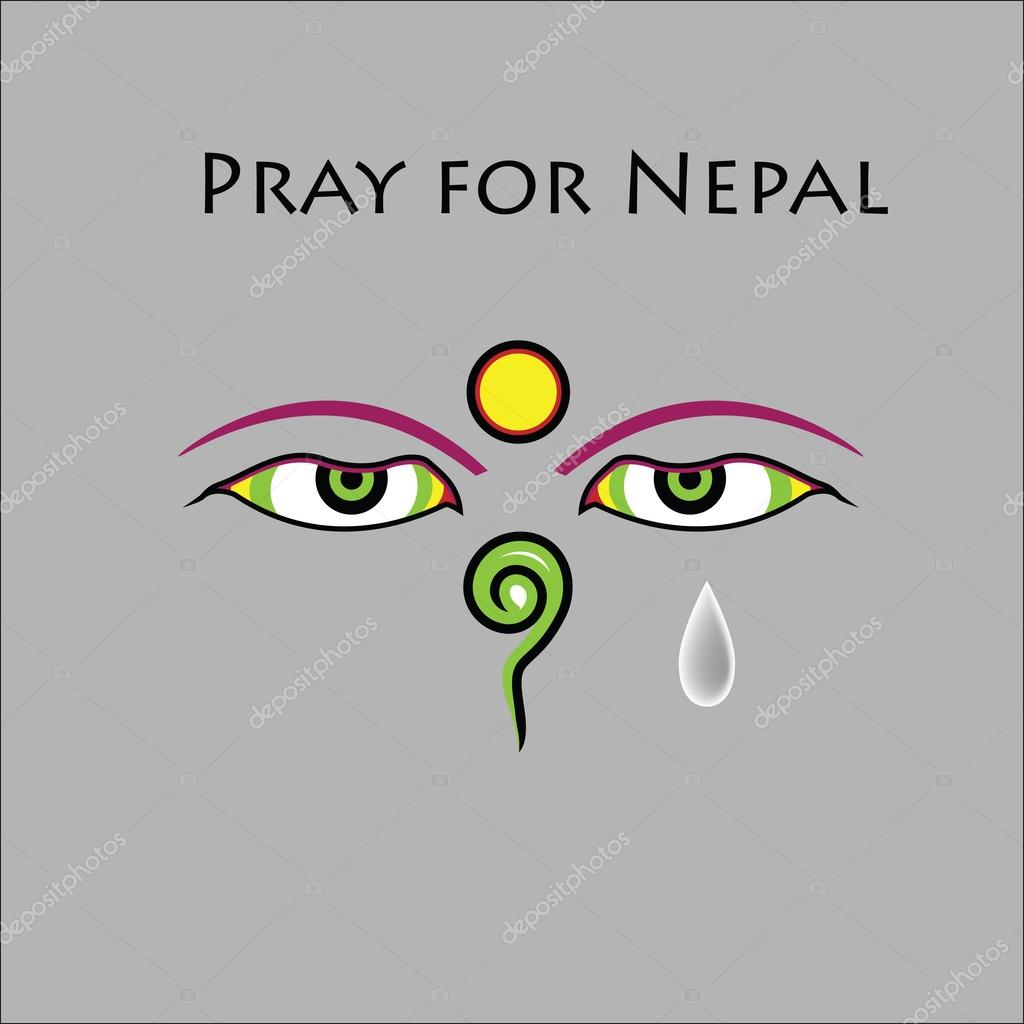 Pray for Nepal earthquake
