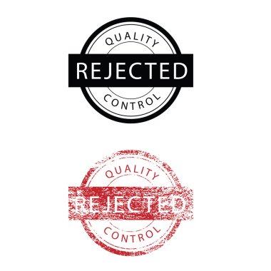 Stamp grunge rejected vintage