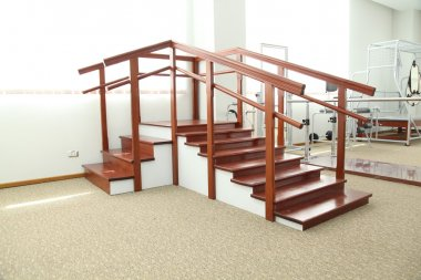 Stairs physiotherapy training unit