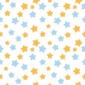 Fényképek Csillag mintás, kék és narancs színben