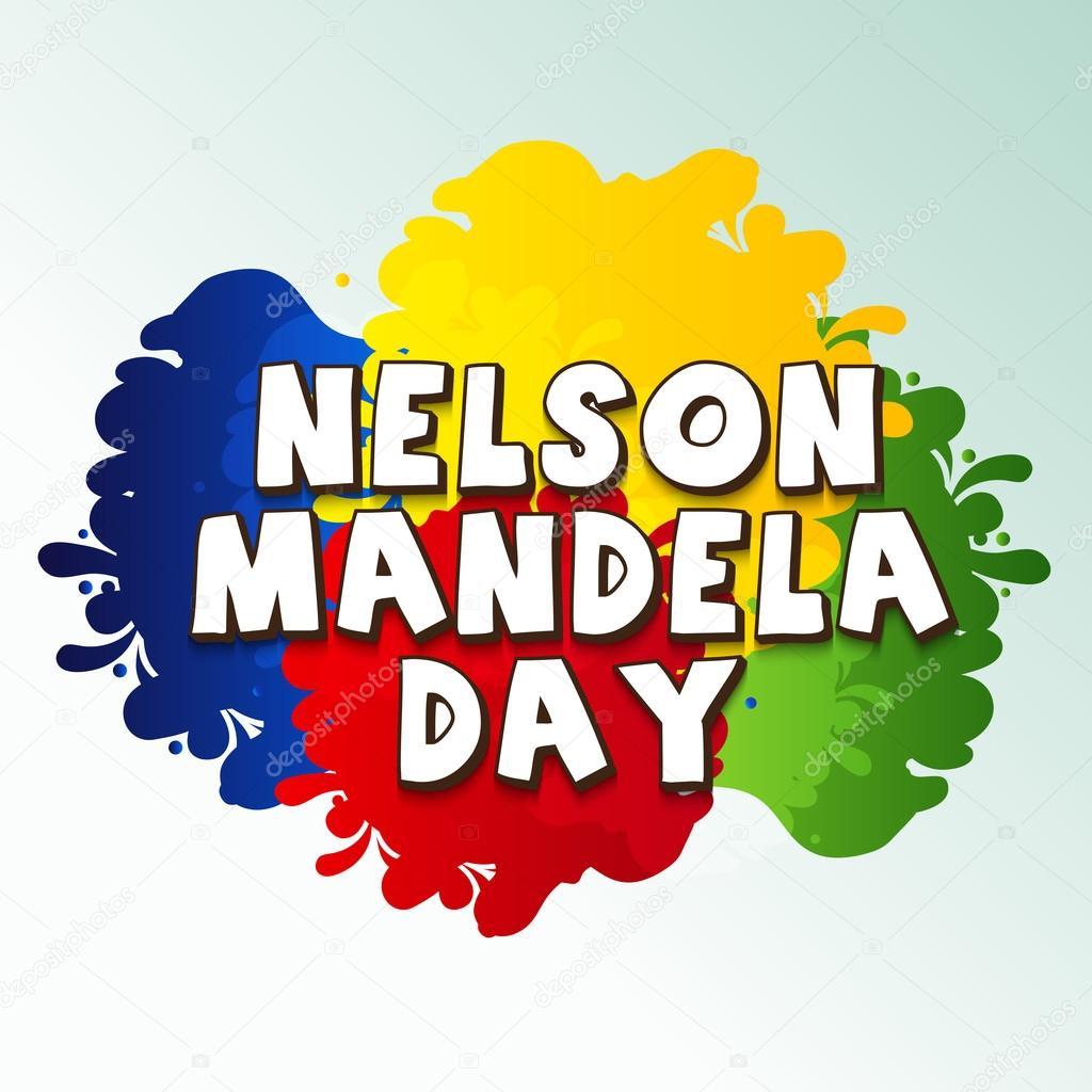 international nelson mandela day stock vector ssdn 113859418 rh depositphotos com Nelson Manela Nelson Mandela Outline Clip Art