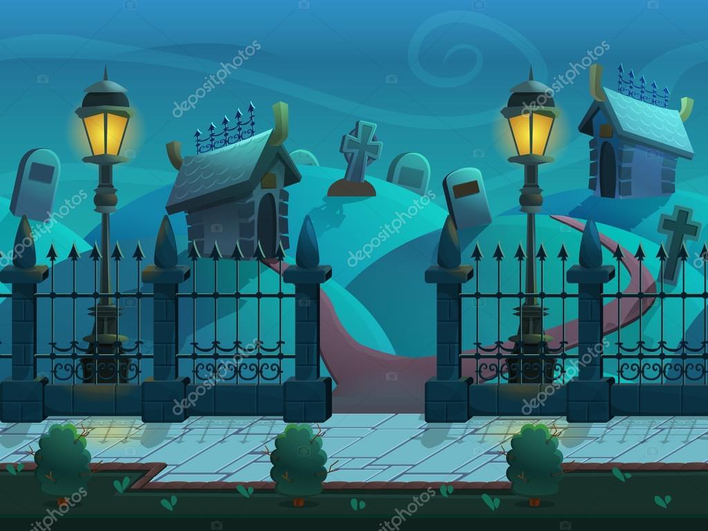 Escena De Dibujos Animados De