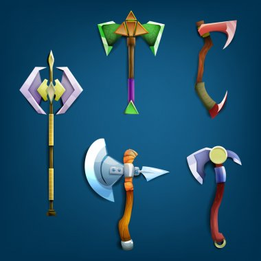 Battle Axes set.