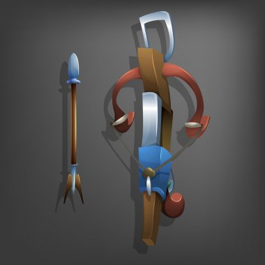 Old Crossbow and bolt.