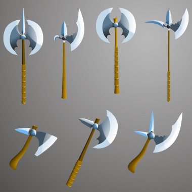 Different  axes set