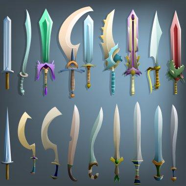 Old  swords set