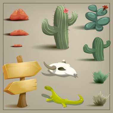 Desert topic set