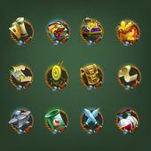 Dekoráció ikonok a játékok