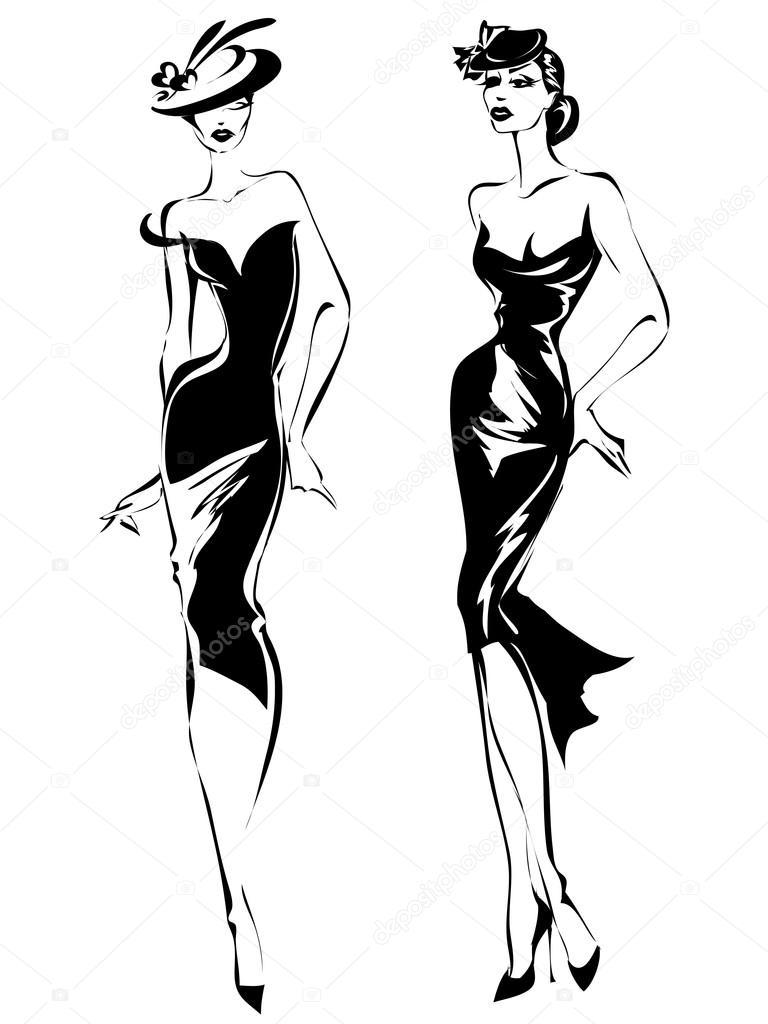 Трикотажные платья  55 лучших моделей