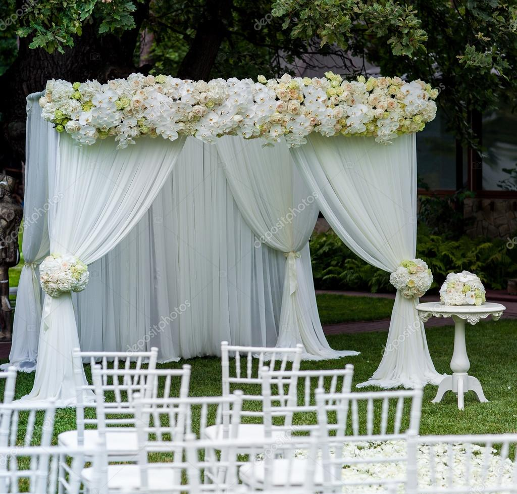 Beautiful wedding set up