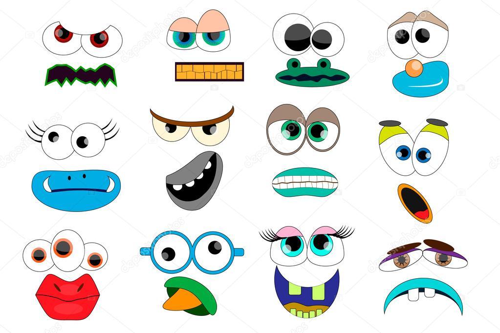 F te pour enfants monstres rigolos masque les - Images de monstres rigolos ...