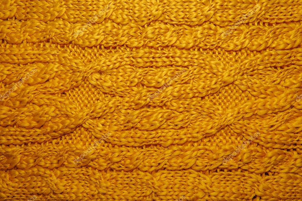Lana tejido a mano o máquina para hacer punto patrón — Foto de stock ...