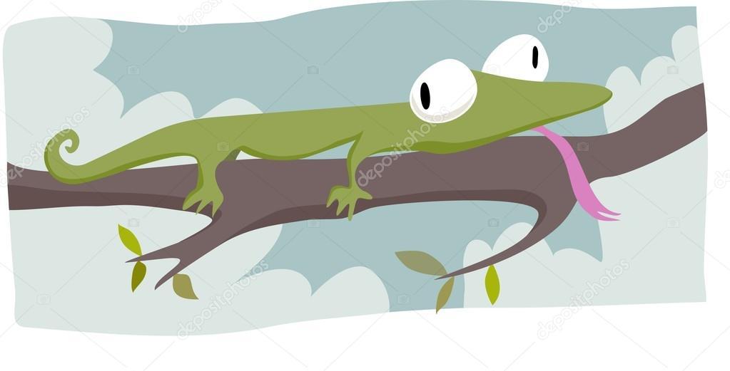 Zany lizard