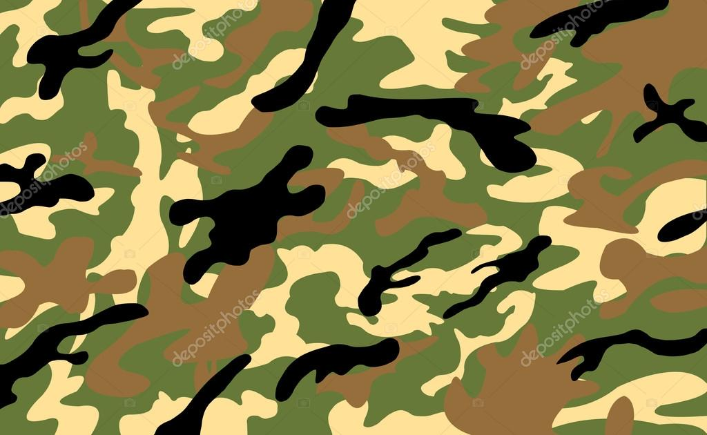 Army Military Camouflage Pattern Background Stock Photo