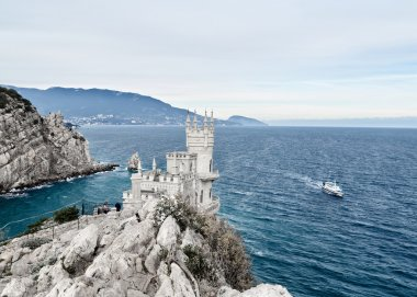 Crimea Swallow's Nest panorama