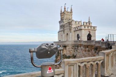 Observation deck. Crimea Swallow's Nest