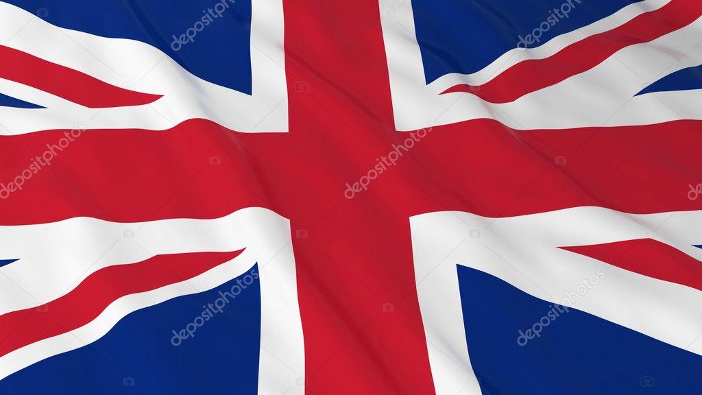 British Flag Hd Background Flag Of The Uk 3d Illustration