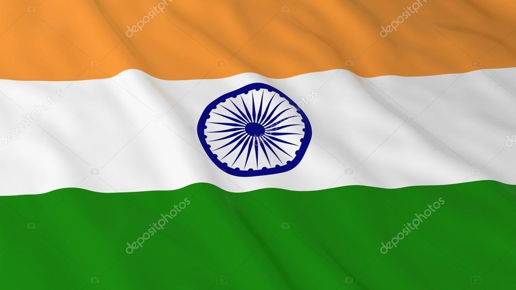 Indian Drapeau Hd Arrière Plans Drapeau De Linde Illustration 3d