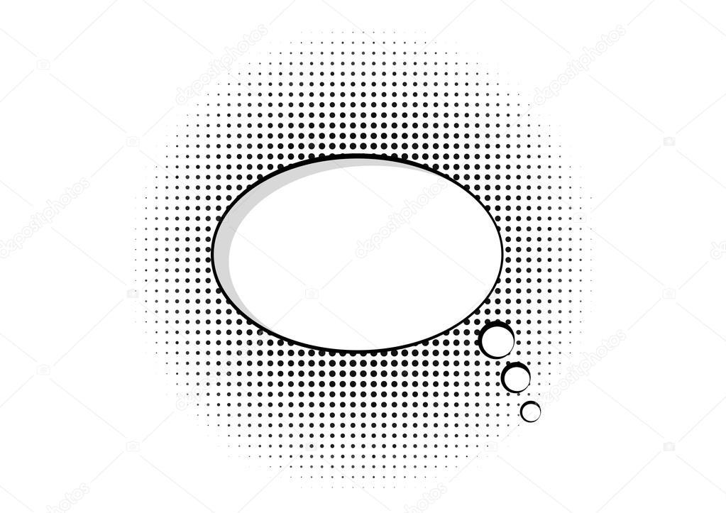 Cartoon Speech Pop Art Bubble Haltone Communication Background