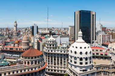 Overview of the center of Buenos Aires