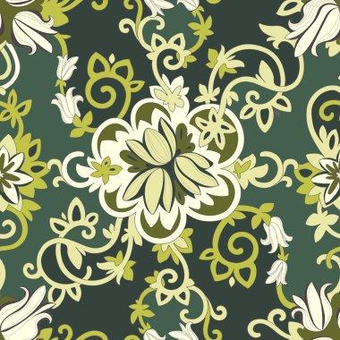 Beautiful elegant floral pattern