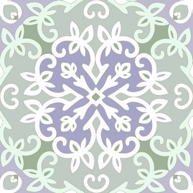 Elegant vector seamless ethnic pattern.