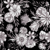 Fotografie Seamless floral pattern.
